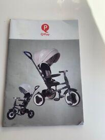 4 in 1 toddler bike.
