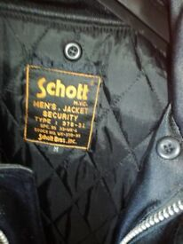Schott Men's Security Jacket