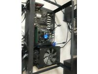 Mining Rig 13 GPU H110 BTC Evga 1000w PSU Bundle