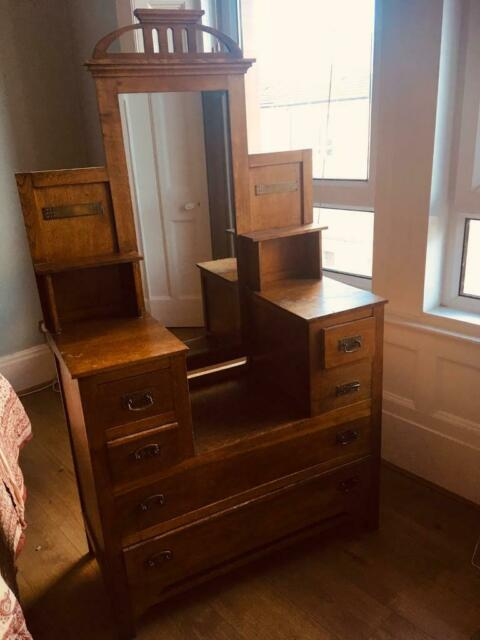 Antique arts and crafts bedroom furniture set | in Southside, Glasgow |  Gumtree