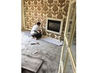 Experienced carpet and laminate fitter