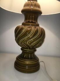 LARGE VINTAGE LAMP WADE? STYLE GINGER JAR LAMP FROM 1950s