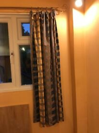 Triple Pinch Pleat Curtains with Buttons
