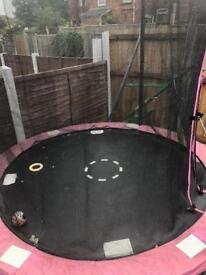 9ft Pink Trampoline