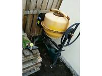 Cement mixer 240v electric