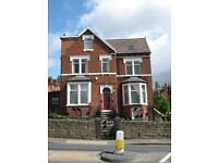 One large double room with private Jacuzzi to rent in this friendly shared house, LS8.
