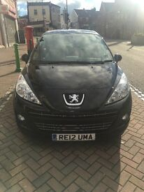 Peugeot 207 sportium, Great condition only 4 years old. Has 10 months MOT,