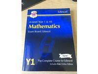 New A-Level Maths Edexcel Year 1 Course book