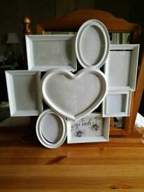 Multi shaped picture frames