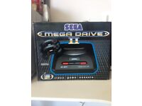 Sega mega drive 16 bit console BRAND NEW