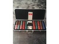 Poker set James Bond limited edition collection