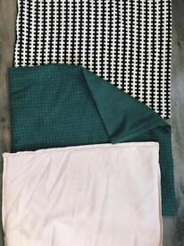 Ikea cushion covers 3x