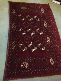 Hand Made Persian Rug 170cm x 100cm