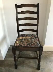 Antique dinning room chair.