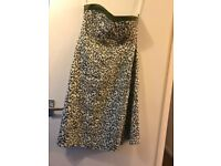 Ladies Size 10 COAST Dress With Matching Handbag