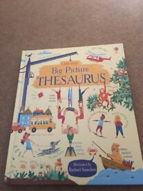 New big picture Thesaurus by Usborne