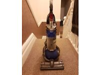 Dyson DC24 compact lightweight hoover vacuum cleaner grey blue
