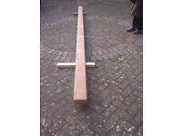 Pitch pine beam 16ft