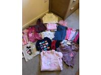 Bundle baby girl clothes 12-18 &18-24 months
