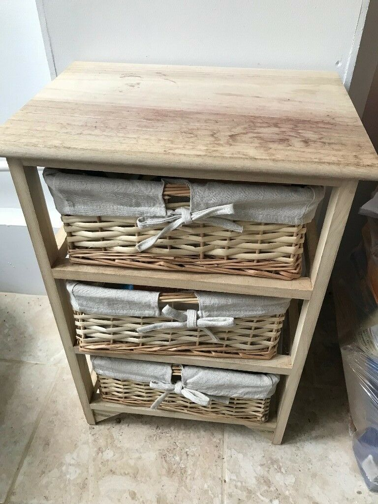 Small Wooden Storage Unit 3 Drawers Great Condition In Wandsworth London Gumtree