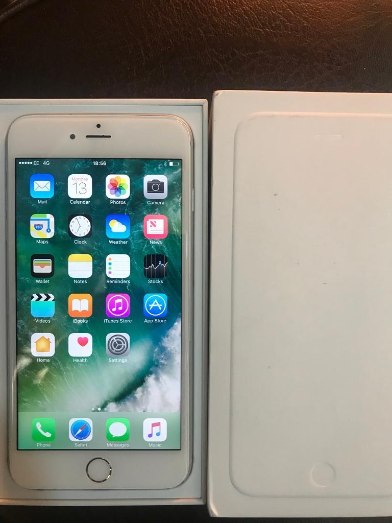 iPhone 6 Plus 16 GB In excellent condition Available in Silver colour