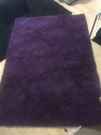Purple rug for sale