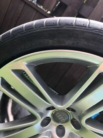 Original Audi alloys in R19