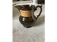 Antique Victorian lustre jug