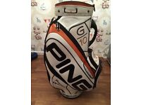 Ping g10 limited edition cart bag