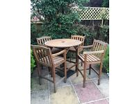 Hardwood Garden Table & Chairs