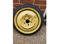 SPACE SAVER SPARE WHEEL & TOYO TYRE T 115/70D15