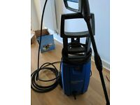 Nilfisk C120.6 pressure washer with patio cleaner