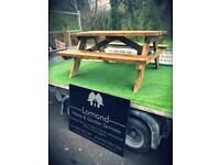 Commercial style heavy duty pub benches for sale