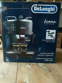 Delonghi espresso & cappuccino coffee maker