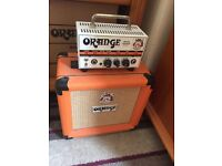 Orange Micro Terror Guitar Amp + Matching Cab