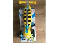 Bumble bee scootie bug scooter