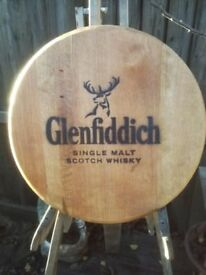 Oak Whisky Barrel Wall Plaque