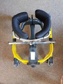 R82 SIZE1 MUSTANG WALKER FOR CHILD . VERY GOOD CONDITION. HAS HIP AND CHEST SUPPORT