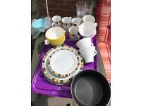 Kitchen plates basics
