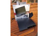 Playstation 3 PS3 320GB console. Perfect Condition. Extra controller and 3 Games.