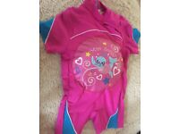 ZOGGS inflatable swim suit aged 2-3