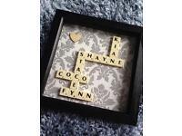 Scrabble Art! Mother's Day!