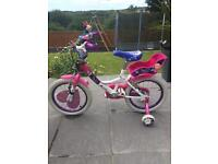 Raleigh older Girls bike