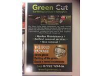 Professional landscape gardening service