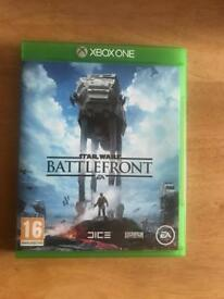 Xbox One Star Wars Battlefront game