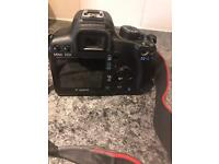Canon Digital Camera, Lens, strap and battery pack