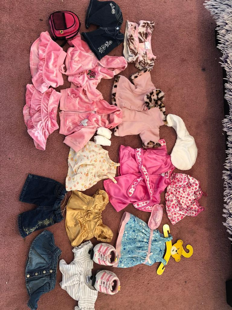 Build - a - bear clothes and accessories