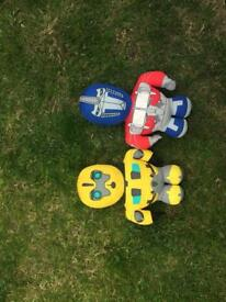 Transformers soft toys