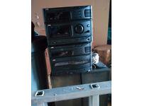 JVC Stereo System CA-S50BK