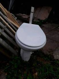 Toilet free of charge